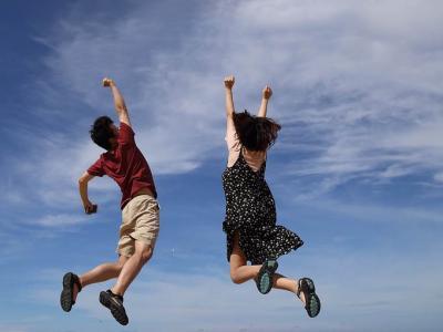 Bom pensamento, entusiasmo: você a um passo de grandes vitórias
