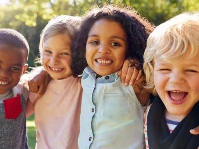 A felicidade é uma criança