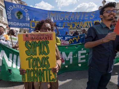 Discriminação e xenofobia são opressões próprias de países colonialistas como Portugal